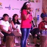 Líderes indígenas en el Foro de la Mujer
