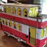Tranvías de hojalata del Museo del Juguete de Hojalata