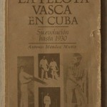 La Pelota Vasca en Cuba