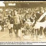 VISITA DEL CLUB DE REGATAS VASCO DE GAMA A ESPAÑA 1957