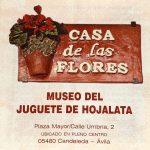 Placa del Museo del Juguete de Hojalata